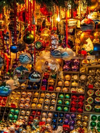 Christmas market in Nuremberg  Germany  photo