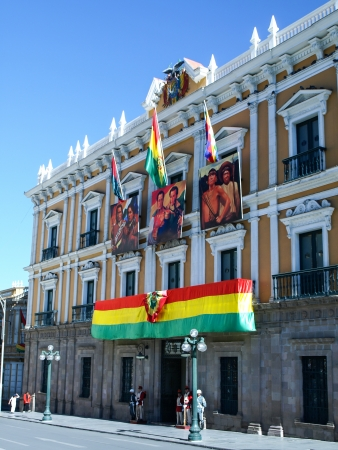 murillo: Government Palace (La Paz, Bolivia)