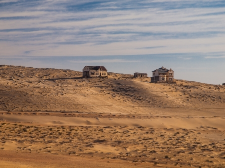 General view of Kolmanskop (Namibia) photo