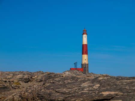 luderitz: Ocean lighthouse near Luderitz (Namibia) Stock Photo
