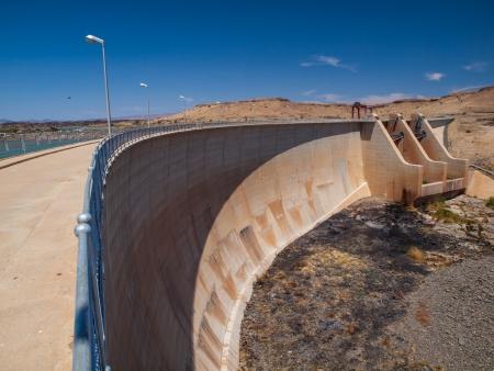 Naute Dam near Keetmanshoop (Namibia) photo