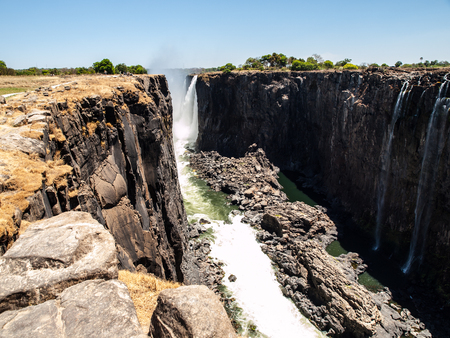 Victoria Falls Canyon (Zimbabwean side) photo