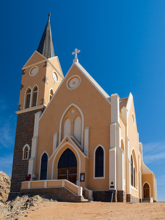 luderitz: Evangelical Lutheran Church in Luderitz  Southern Namibia
