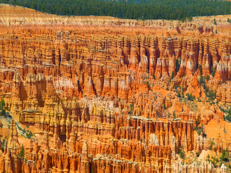 Colorful rock formations in Bryce Canyou (Utah, USA) photo