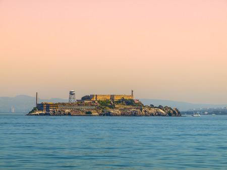 Alcatraz - The most known prison on the island near San Francisco