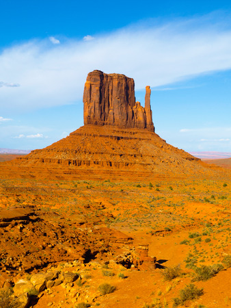 Mitten Butte in Monument Valley (Utah, USA) photo