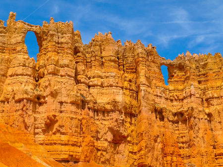 rock formation: Rock formation close up, Bryce Canyon, Utah