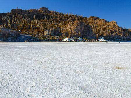 incahuasi: Isla Incahuasi or Isla de los pescadores is an island in the middle of Salar de Uyuni in Bolivia