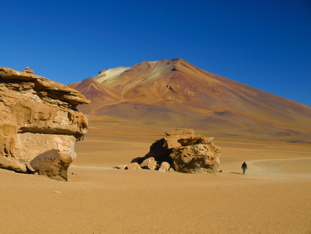 lipez: Rock formations in mountain desert of Cordillera de Lipez, Bolivia