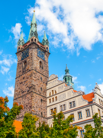 gildhall: Black Tower and Town Hall in Klatovy, Czech Republic