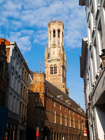 belfort: The Belfry Tower of Bruges, or Belfort, is medieval bell tower in the historical centre of Bruges, Belgium