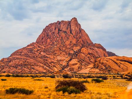 spitzkoppe: Spitzkoppe mountain - bald granite peak in Namibia