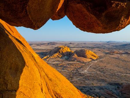 spitzkoppe: Massive granite rock formations, Spitzkoppe area, Namibia