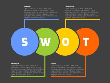 Swot business infographic diagram or swot matrix used to evaluate 52202883 swot business infographic diagram or swot matrix ccuart Choice Image