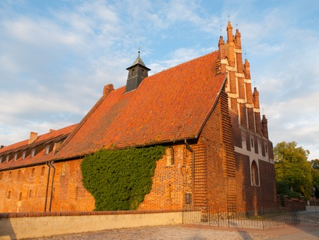 lawrence: Old Church of Saint Lawrence in Malbork Lower Castle, Poland