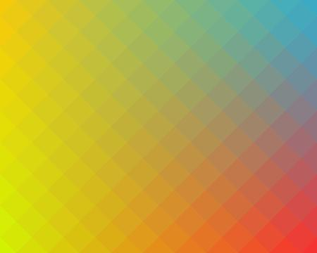 checked background: Multicolored checked pattern background made of diagonal squares. Vector illustration. Illustration