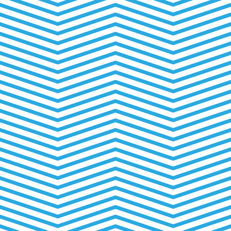 chevron pattern: Seamless chevron pattern in blue and white. Horizontal zigzag lines in obtuse angle. Retro navy style vector background.