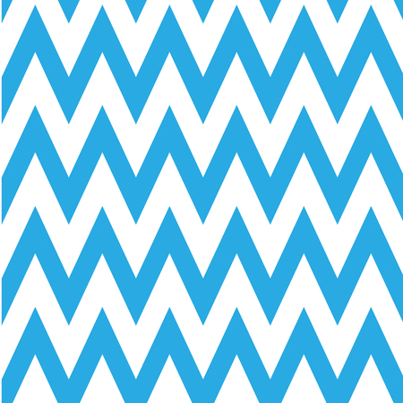 chevron pattern: Seamless chevron pattern in blue and white. Horizontal zigzag lines in acute angle. Retro navy style vector background.