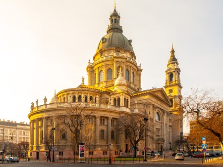 stephen: St. Stephens Basilica in Budapest, capital city of Hungary, Europe.
