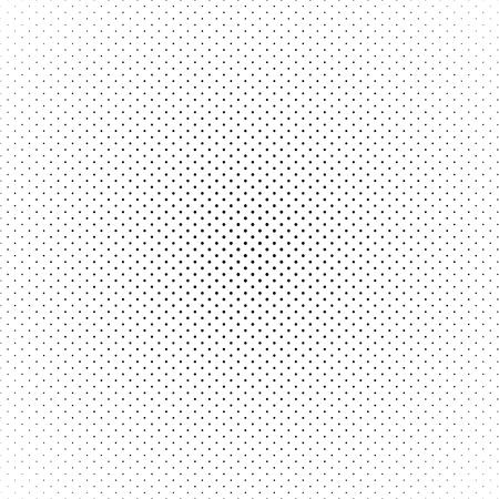 斜め rrangement 白い背景の上にドットで作られた黒の抽象的なハーフトーン サークル。ベクトルの図。
