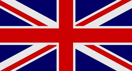 Bandiera del Regno Unito di Gran Bretagna e Irlanda del Nord Archivio Fotografico - 82564419