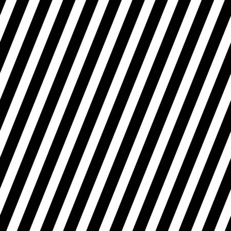 Striped seamless pattern background. Vector illustration in black and white.