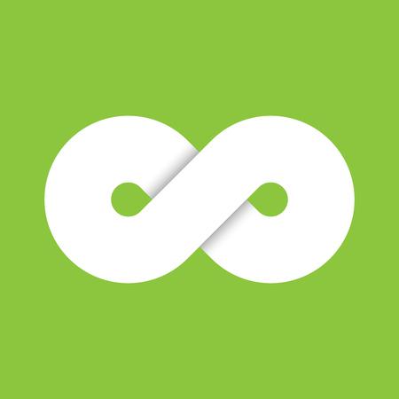 Infinity Symbol Icon Representing The Concept Of Infinite