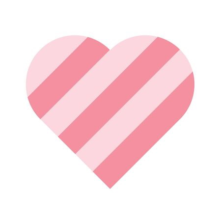 Pink heart icon.