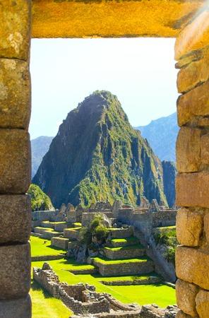 Machu Picchu, Lost City of Incas. Peru