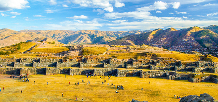 Fort Sacsayhuaman in Cusco, Peru