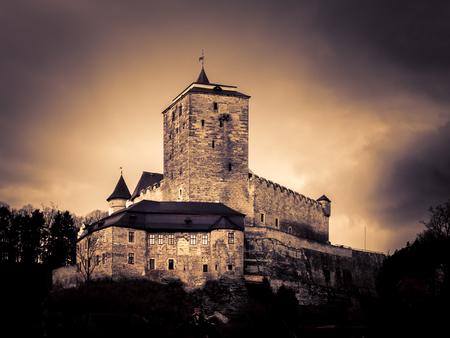 Kost Castle in Bohemian Paradise, Czech Republic.