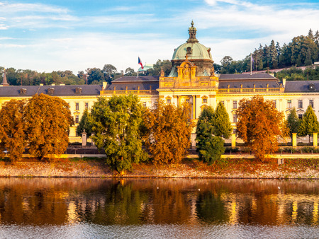 Straka Academy, the seat of Government of Czech Republic, Prague.