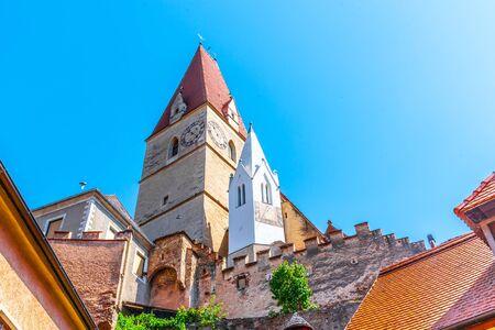 Parish church of the Assumption of the Virgin Mary, Weissenkirchen in der Wachau, Austria.