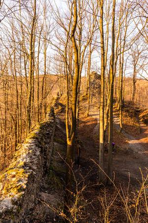 Hamrstejn Castle Ruins near Liberec, Czech Republic.