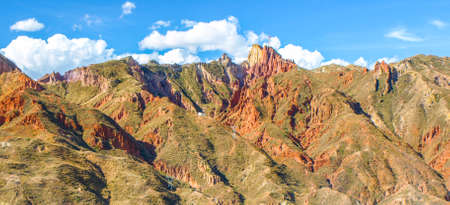 Rock formations around Moon valley near La Paz, Bolivia, South America.