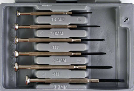 Part of a small tool kit intended for home use.