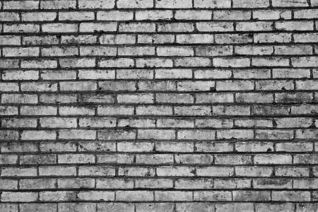 black and white brick abstract texture background