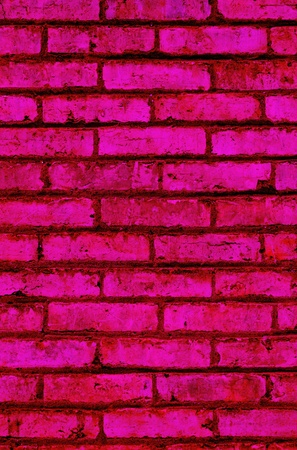 hot pink brick abstract texture background close up photo