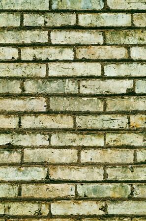 washed green brick abstract texture background close up