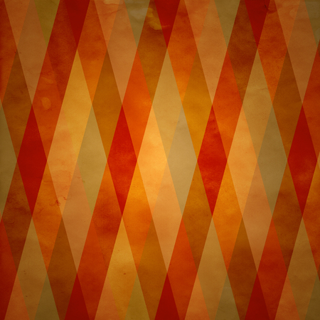 seamless background of fall warm colored diagonal stripes photo