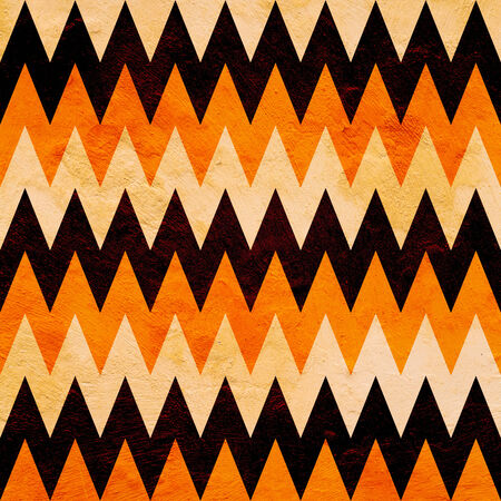 abstract grunge halloween chevron pattern