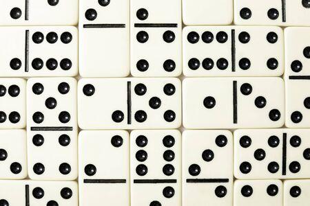 regimented: Bones of a dominoe filled a background