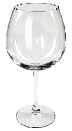 Glass for wine on a white background Stock Photo - 3501527