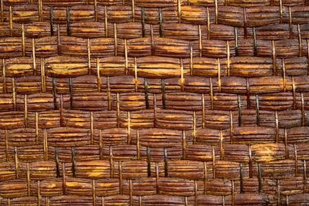 braiding: Brown braiding straw background photographing close up Stock Photo