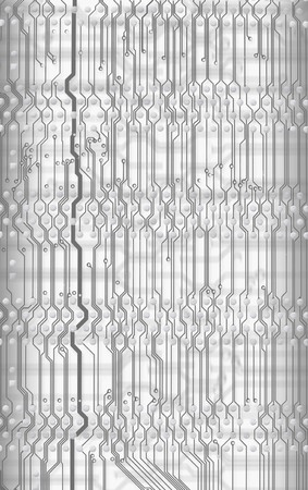 Abstract light circuit board background in hi-tech style Stock Photo - 4455052