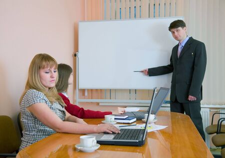deliberation: The young man to speak at a meeting