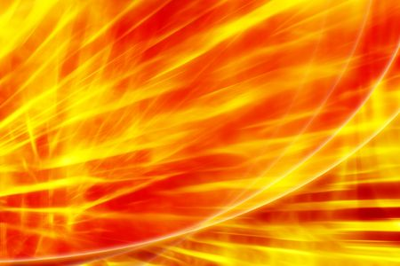 fervent: Fire abstract fervent red - yellow hell background