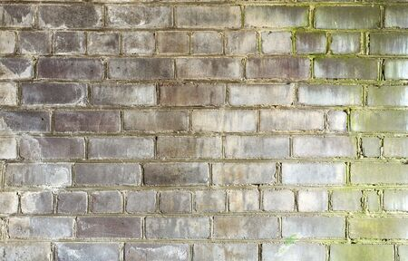 stonewall: Surface of gray old, dirty, decayed, brick wall