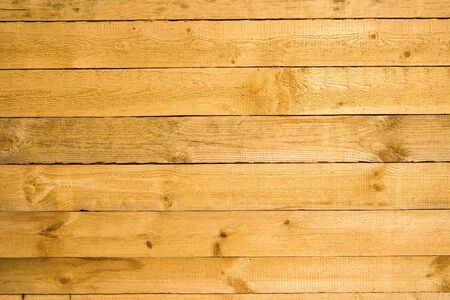 The wooden crude uneven rough wall background Stock Photo - 5146021