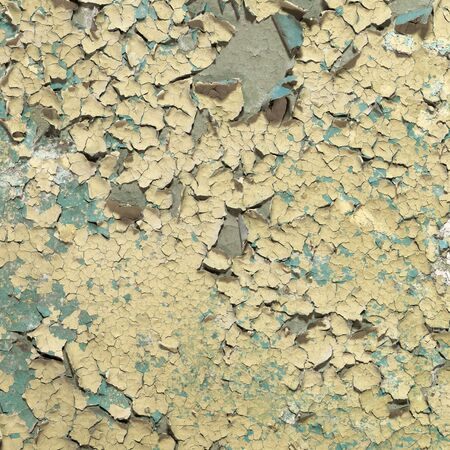 Grunge ancient painted and cracked wall background Stock Photo - 5173399